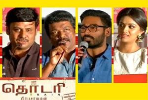 Thodari audio launch: Movie crew talks about their experiences