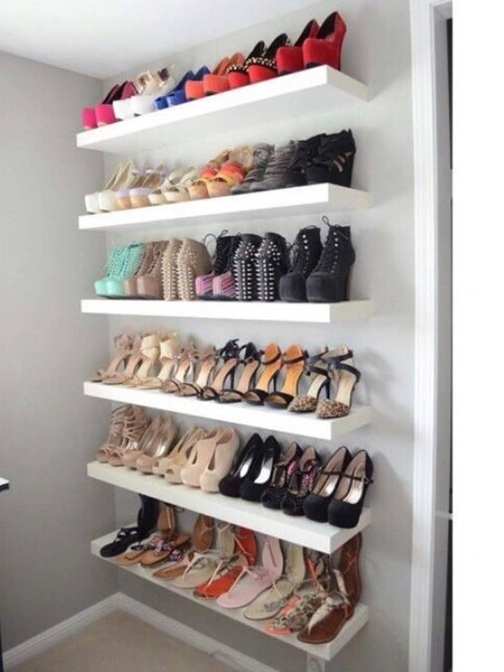 Arquitetando na net organizando os sapatos for Armario zapatero bauhaus