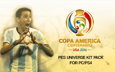 Copa America Centenario 2016 Pack 2 for PC by Klashman69 & aLe