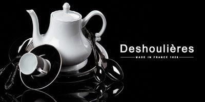 vente directe fabricant de porcelaine Deshoulières