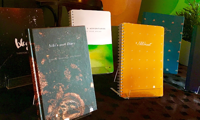 #BloggerTikiParty Blogger Event in Birmingham toad diaries planners stationary