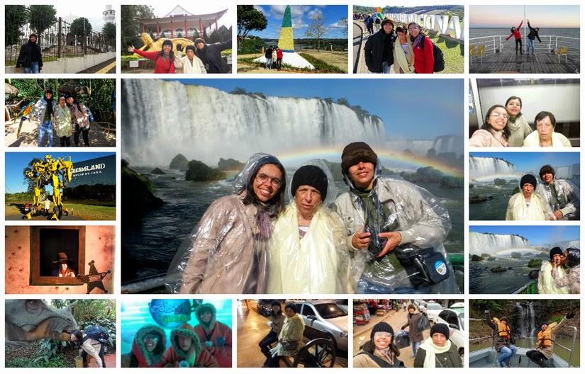 Foz do Iguaçu: vídeo do 1º dia de viagem