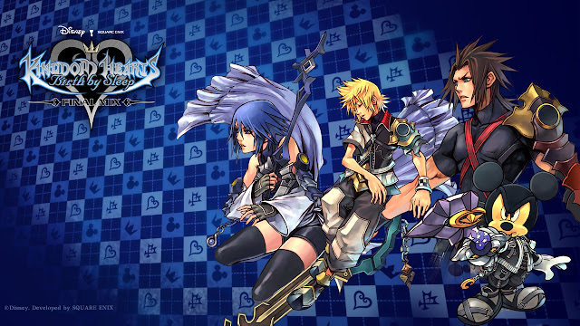 kingdom hearts birth by sleep psp gameplay