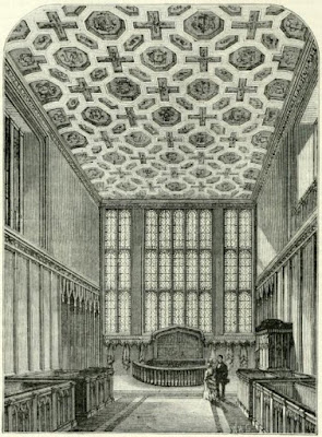 The Chapel Royal, St James's Palace  from Old and New London by E Walford (1878)