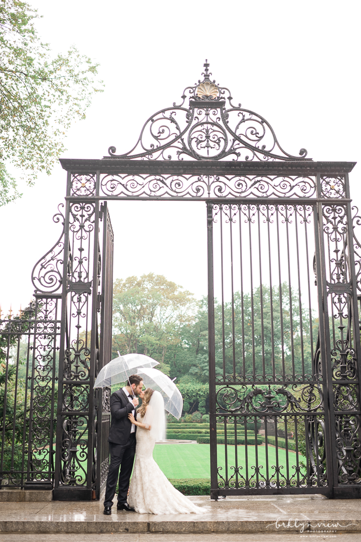 Conservatory park wedding