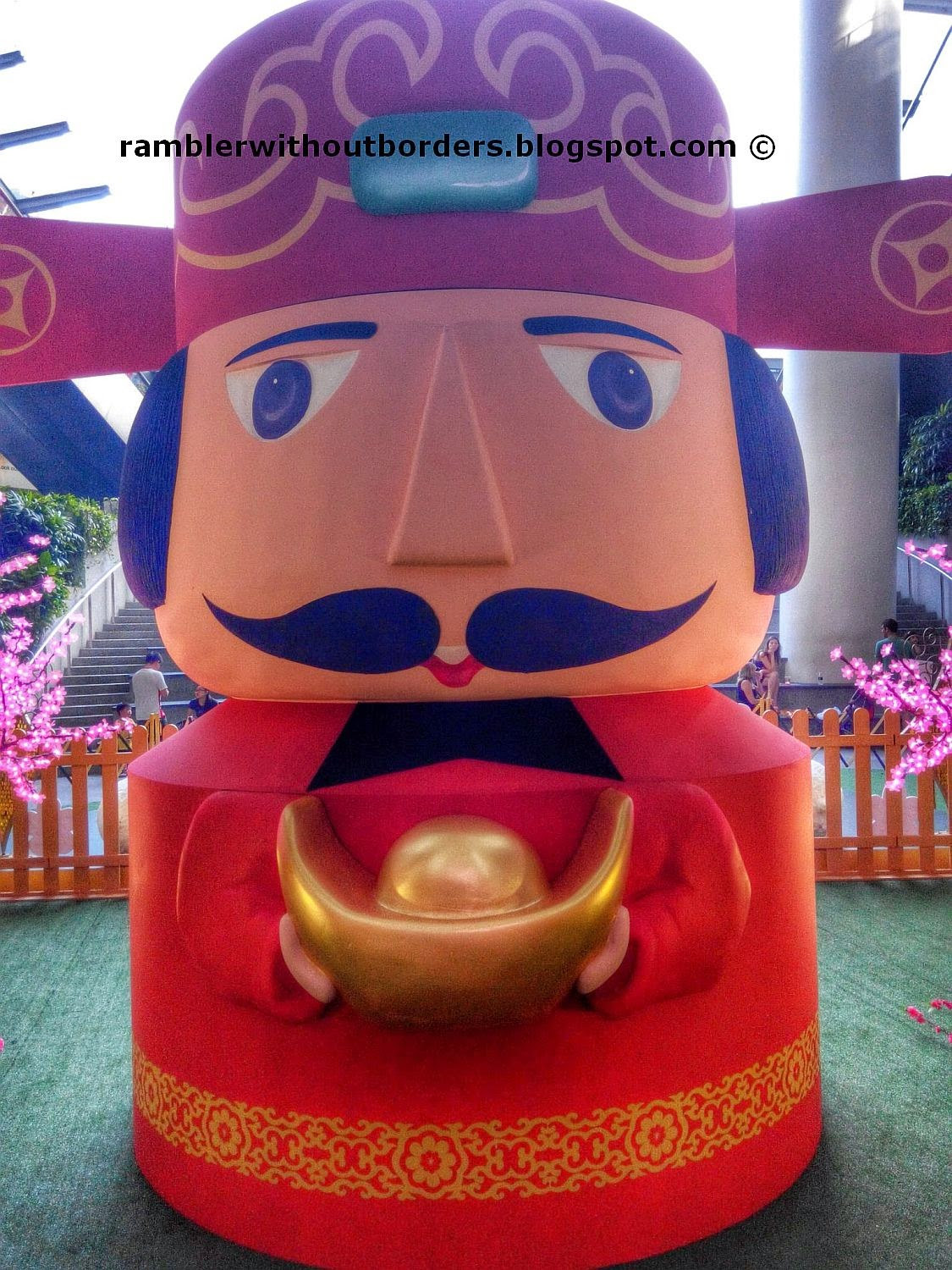 God of Fortune, Star Vista shopping mall, Singapore