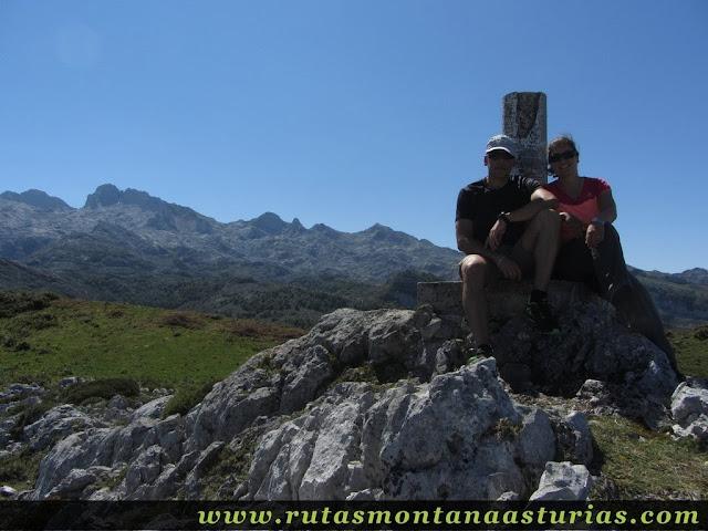 Ruta Lagos de Covadonga PR PNPE-2: Cima del pico Mosquital