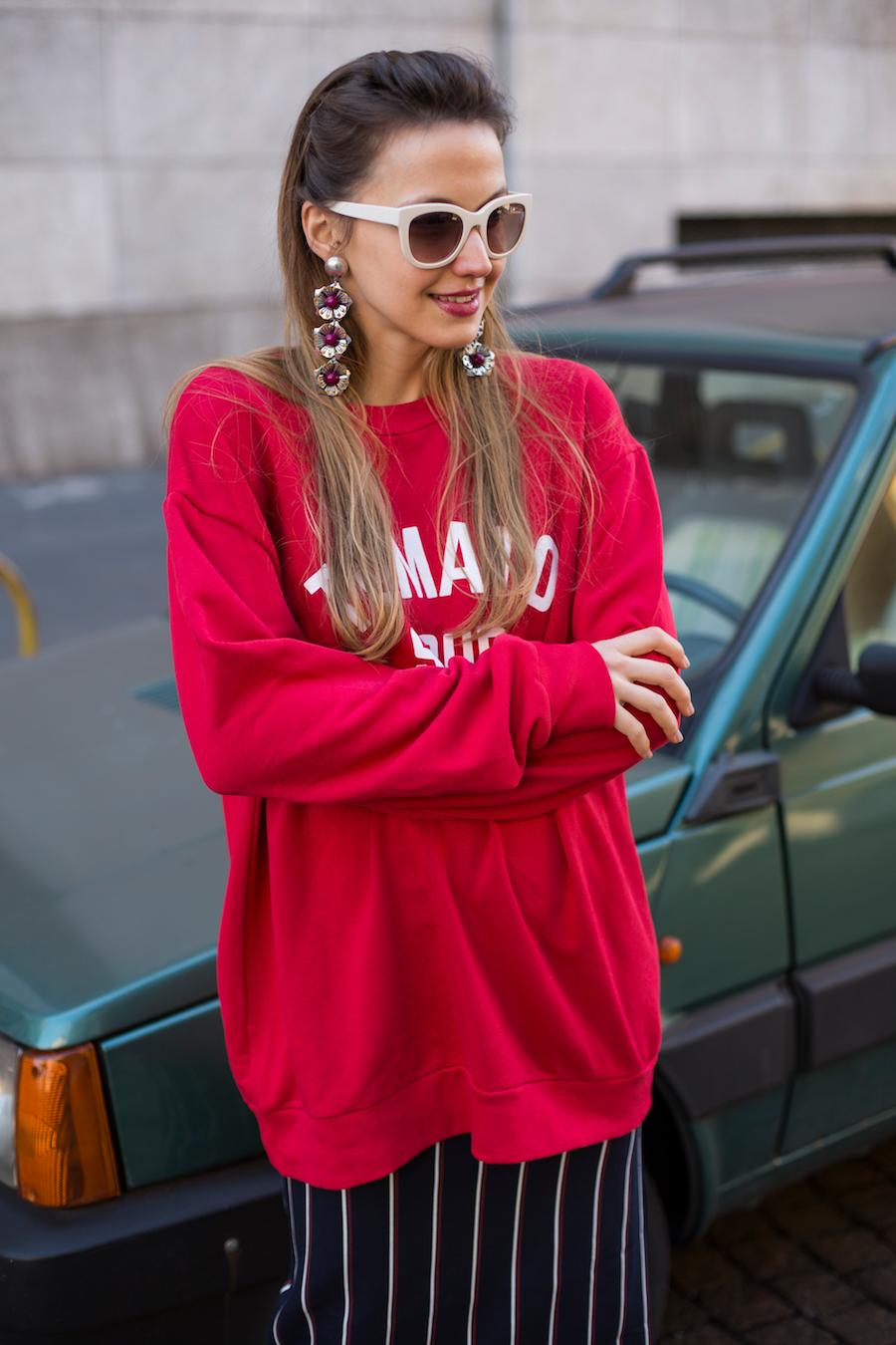 street style milan blogger