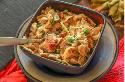 Sensational Chicken Carbonara Recipe #dinnerfood