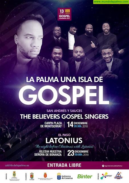 El cantante Latonius protagoniza este domingo en El Paso la última cita del Festival 'La Palma, una isla de gospel'
