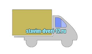 Транспортировка межкомнатных дверей