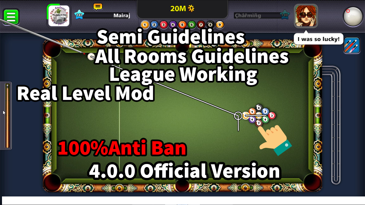 8 ball pool unlimited coins mod apk 4.0.0