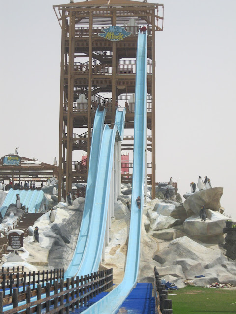 Mount attack at Ice Land Water Park Ras Al Khaimah