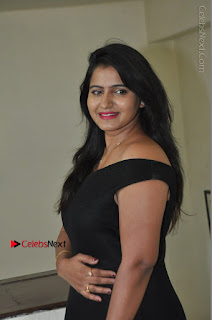 Telugu Actress Swathi Reddy Latest Stills in Black Gown  0038.JPG