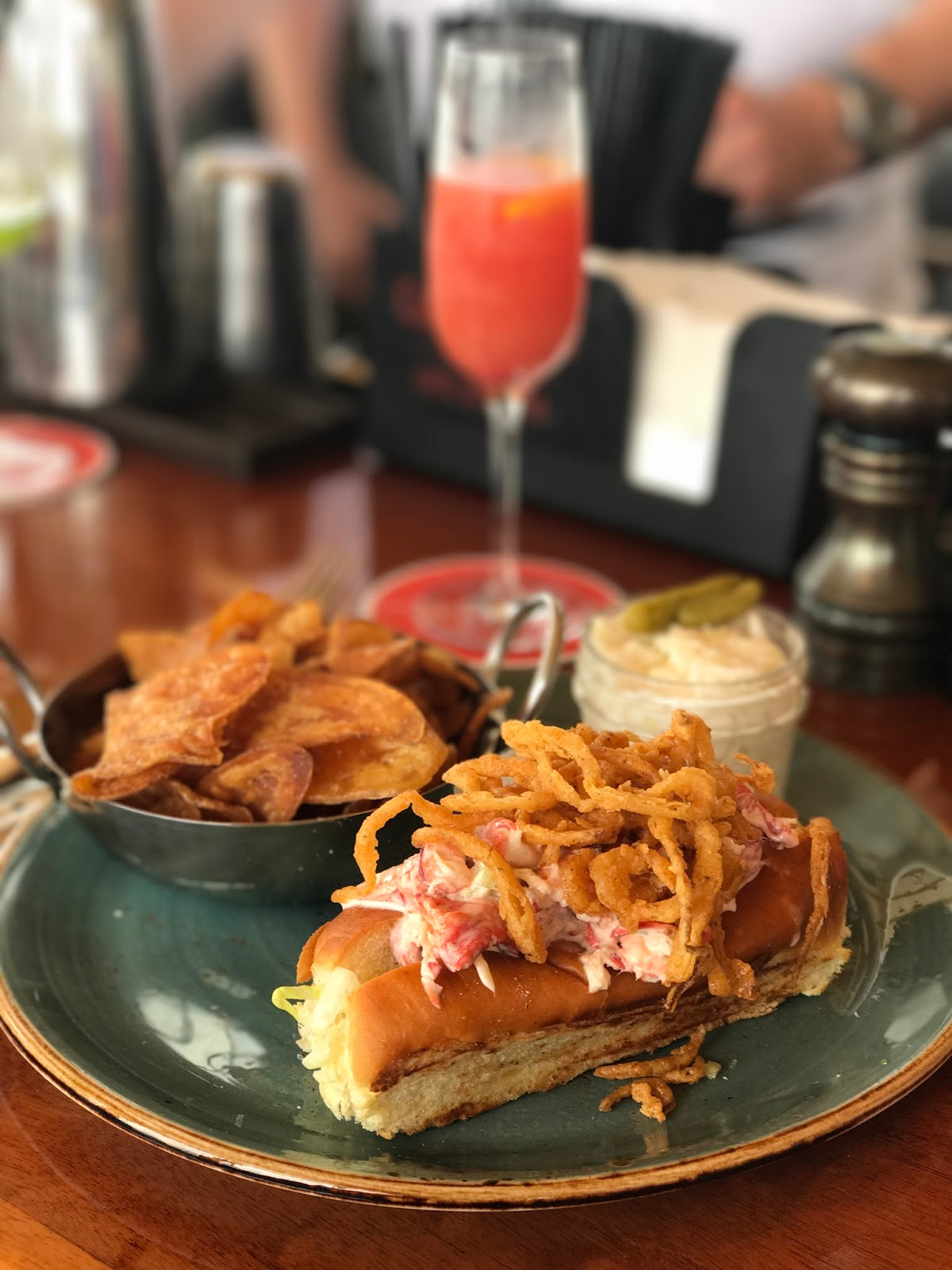 Lobster Roll, Newport places to eat, where to eat in Newport, Rhode Island
