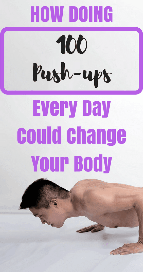 How Doing 100 Push-Ups Every Day Could Change Your Body