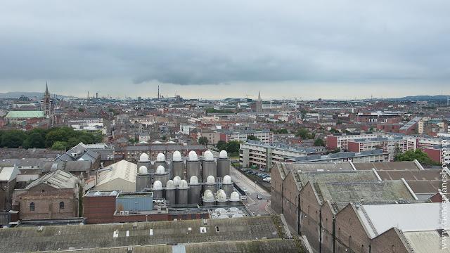 Vistas Guinness Storehouse Dublin Irlanda