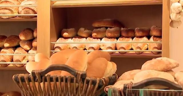 Bread flour in Albania, 1.5% less proteins than standard