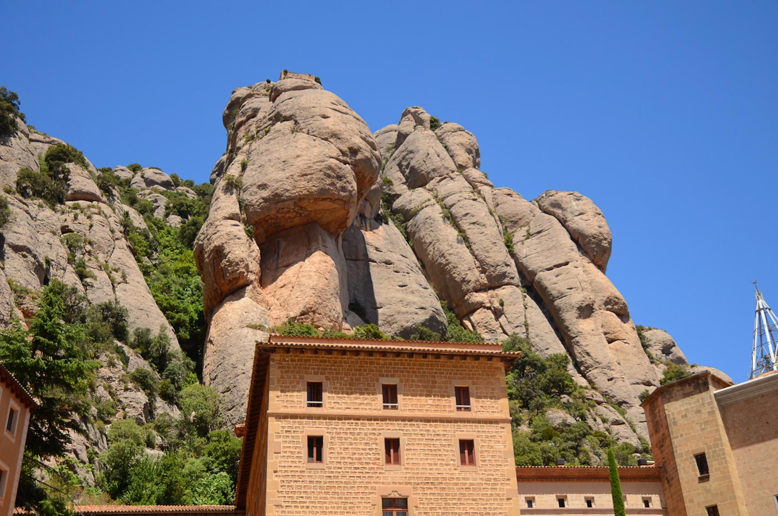 Monastery of Montserrat near Barcelona by Barcelona Photoblog