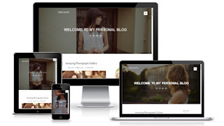 Memento blogger template