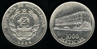 Mozambique 1000 Meticais (1994)