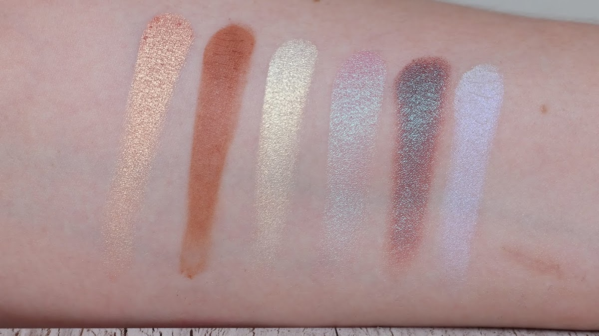Eyeshadow Palette Swatches