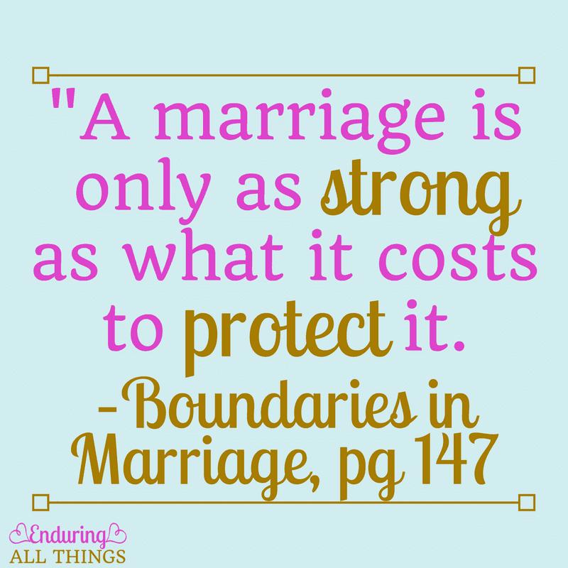 boundaries in marriage Boundaries in marriage by dr henry cloud, dr john townsend starting at $120 boundaries in marriage has 7 available editions to buy at alibris.