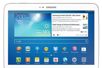 Cara Flashing Samsung Galaxy Tab 3 GT-P5220 dengan Mudah