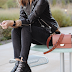 Chic Fall outfit + New Bag love (affordable too!)