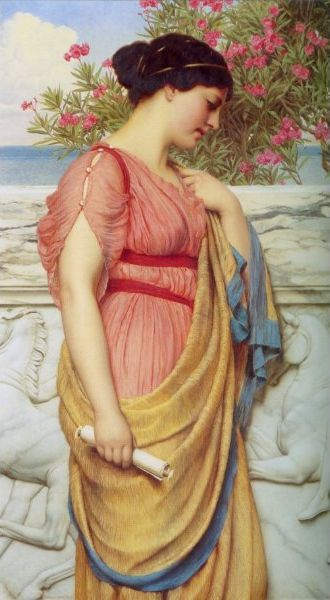 Sappho John William Godward