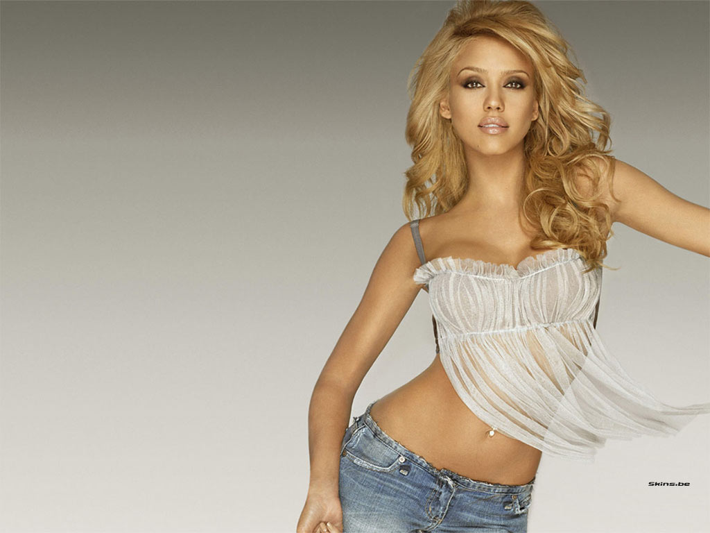 Hot jessica alba blonde