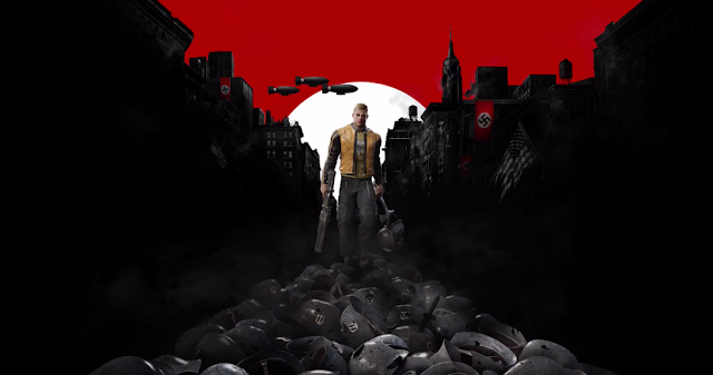 Nintendo Switch Wolfenstein II The New Colossus Nazi swastika
