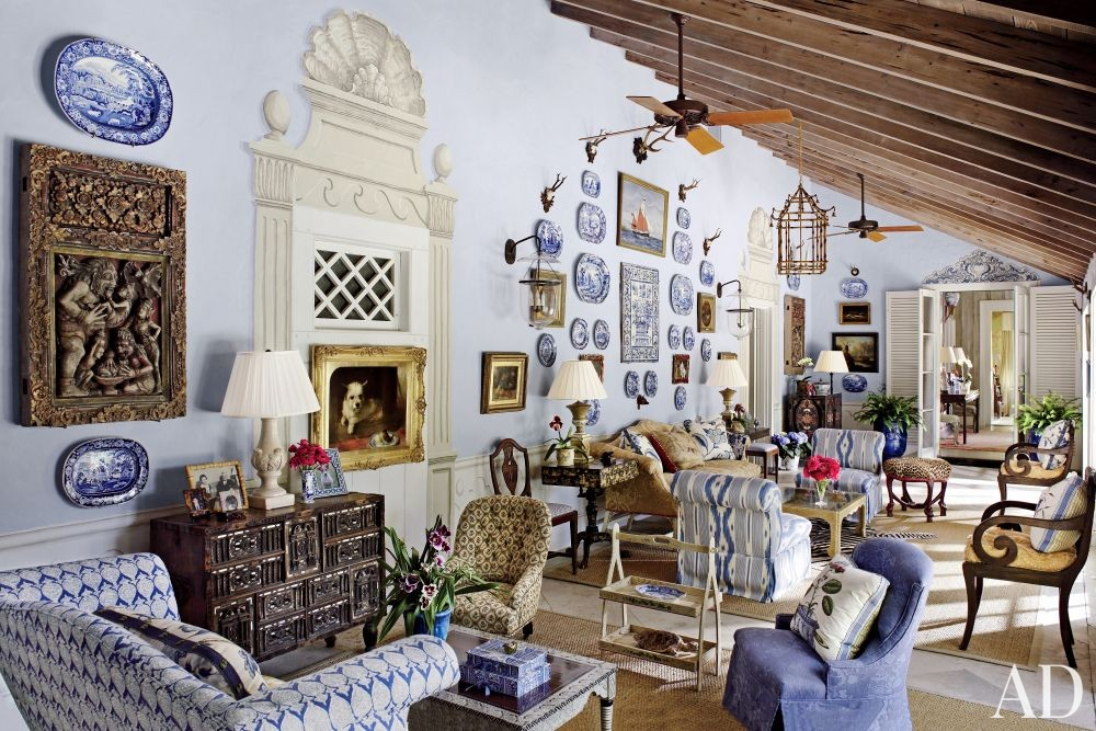 In the BLUE ROOM House BLUE tiful In