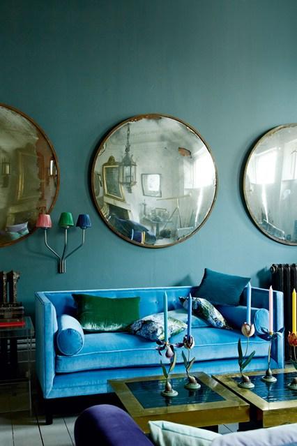 Canape Velours Maison Du Monde Idees D Images A La Maison