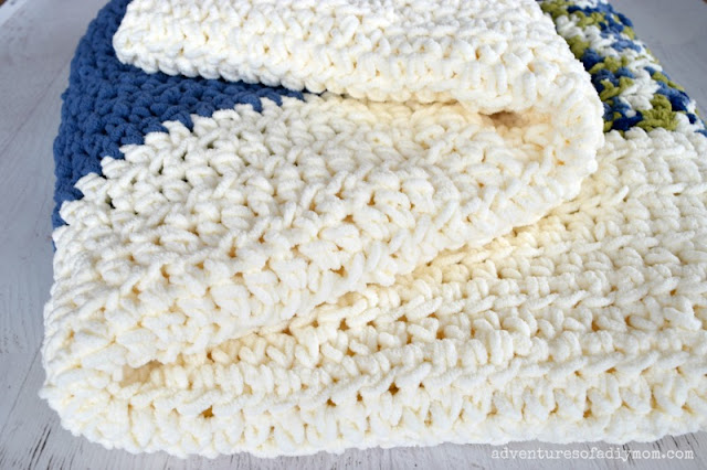 how to make an easy crochet blanket