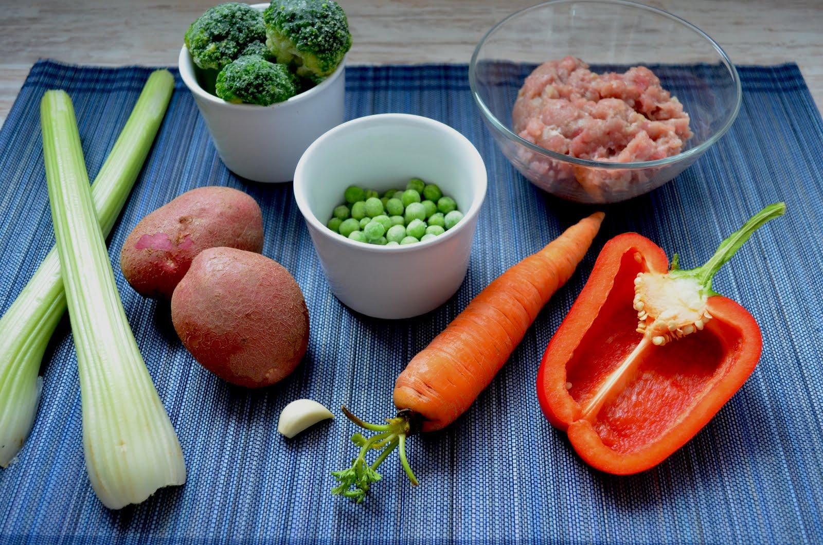 Ела одни овощи похудела
