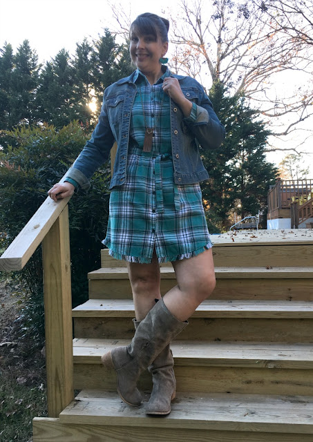 I am sharing several ways to style a dress and talking about why I am wearing dresses every day in December to help bring awareness to modern slavery and human trafficking.