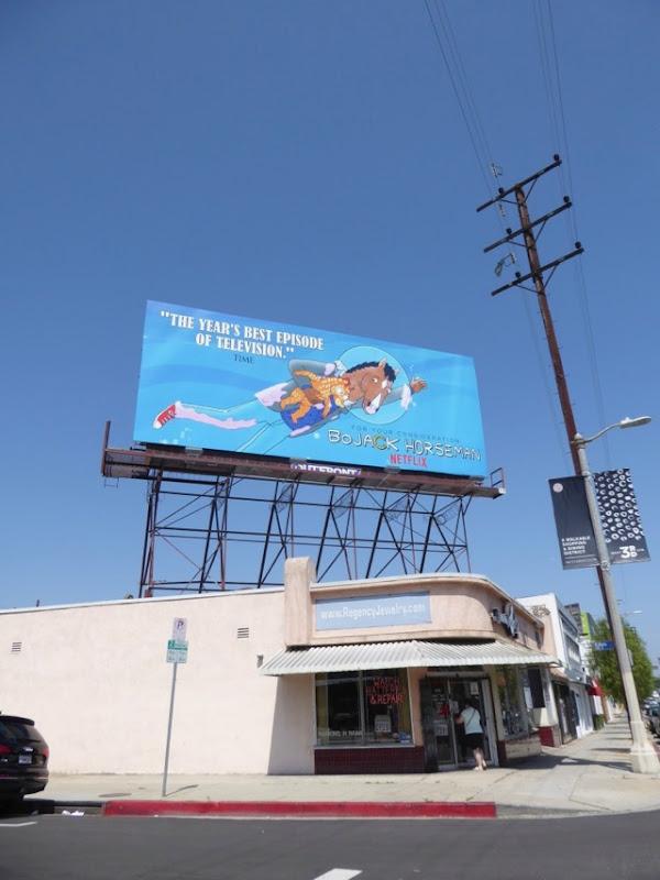 BoJack Horseman 2017 Emmy FYC billboard