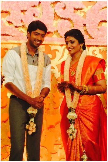 Allari Naresh with his wife Virupa Kantamneni