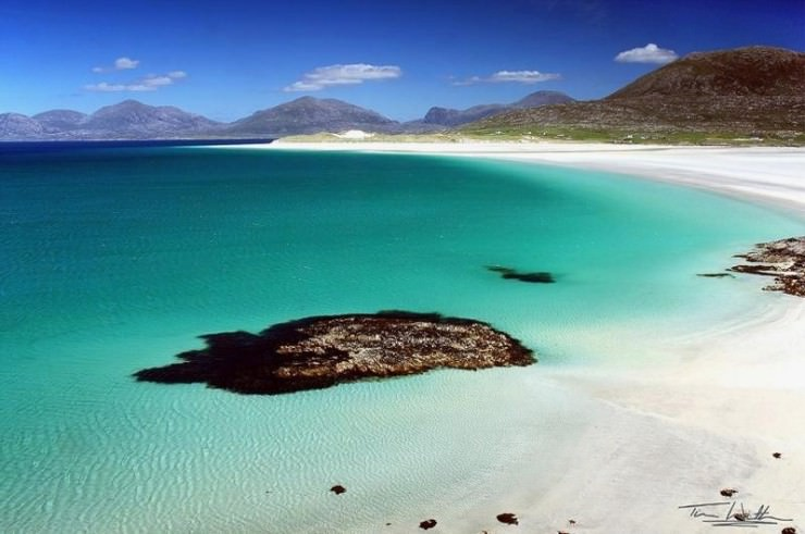 33 Amazing Beaches From Around The World - Luskentyre, Isle of Harris, Scotland