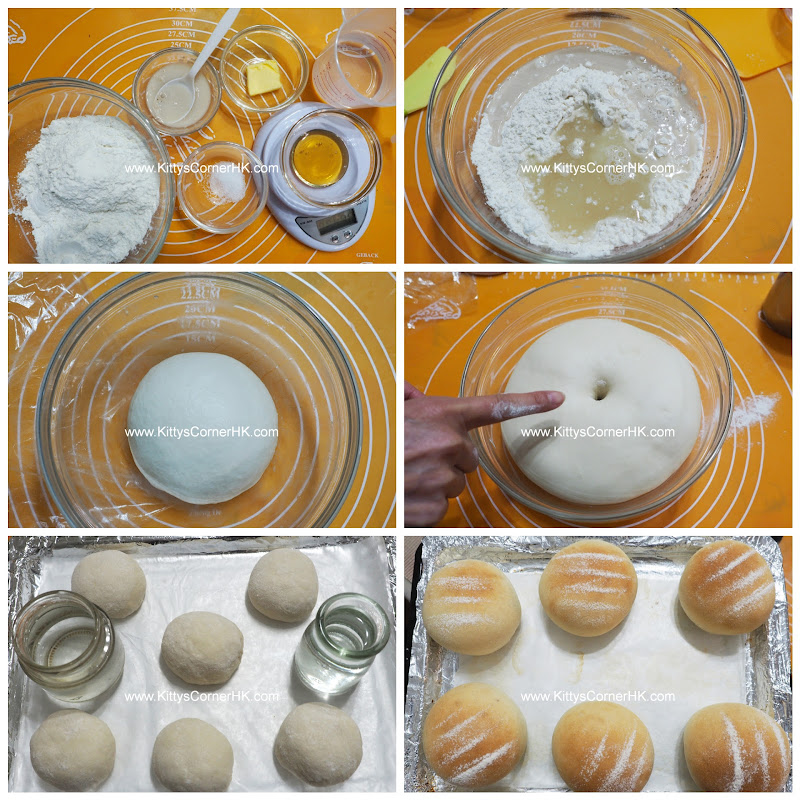 Honey Bread DIY recipe 蜂蜜麵包 自家烘焙食譜
