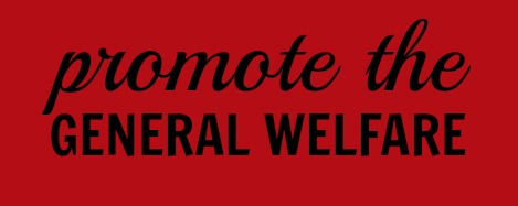 what does to promote the general welfare mean