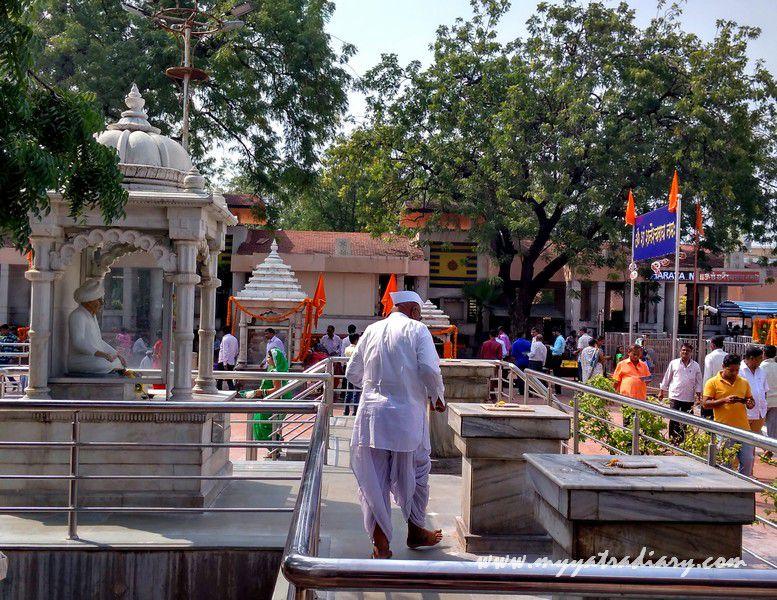 Shani Shinganapur Temple compund, Maharashtra