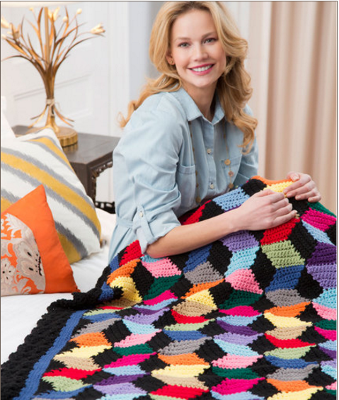 Sweet Nothings Crochet: ILLUSION BLANKET