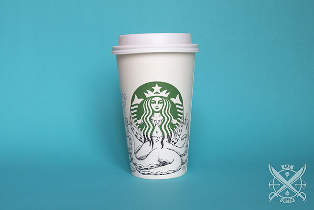 La vida secreta de la sirena de Starbucks