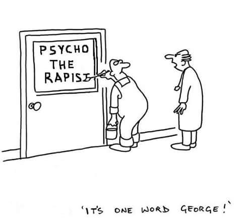 Funny Psychotherapist Cartoon Joke Picture