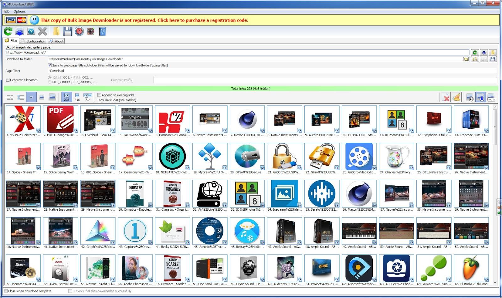 Bulk Image Downloader v5.38.0.0