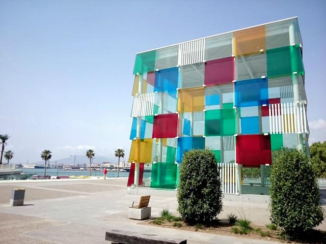 O que fazer em Málaga em 1 dia? Centre Pompidou Malaga