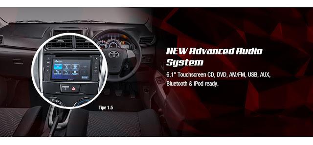 Interior  Audio Toyota Avanza Veloz