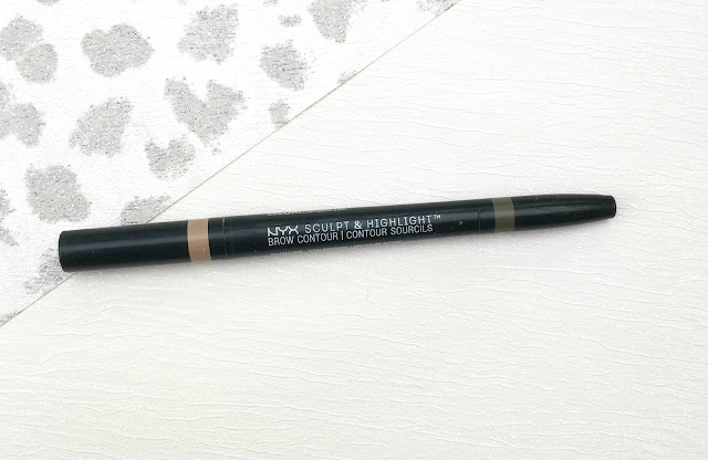 NYX Sculpt & Highlight Brow Contour, NYX Sculpt & Highlight Brow Contour Review, NYX Eyebrows, NYX Eyebrow pencil